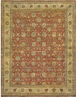 Lamani Collection 5024 kirman con Rust