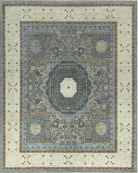 Neo Villa Collection Mamluk 1000 Light Blue