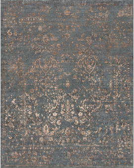 Neo Villa Damask Cr018 Dark Grey
