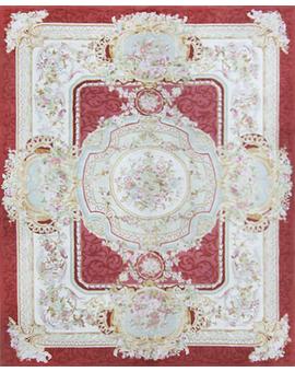 Renaissance Pile Aubuson Red Ivory