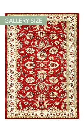 1880 ZIEGLER RED/BEIGE