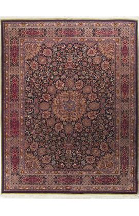 Vintage Persian Tabriz Circa 1920 Ardabil Design Rug