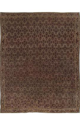 Antique Indian Agra Rug Circa 1890