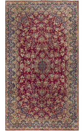 Vintage Persian Kirman Rug Circa1950