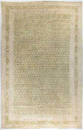 Antique Indian Cotton Agra Rug Circa 1880