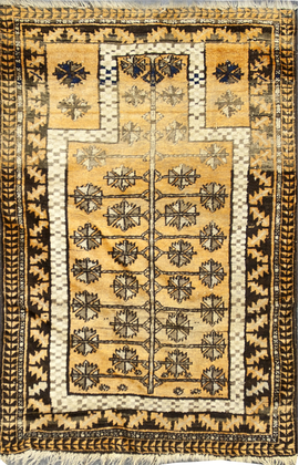 Antique Afghanistan Rug Circa 1900