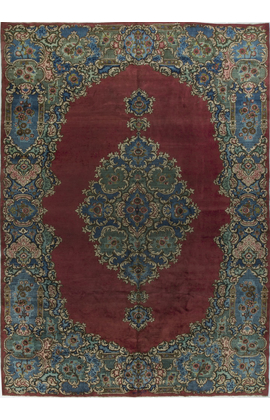 Antique Persian Meshad Rug Circa 1900