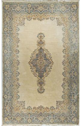 Vintage Persian Kirman Rug,Circa 1980