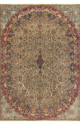 Antique Persian Kirman Circa 1900