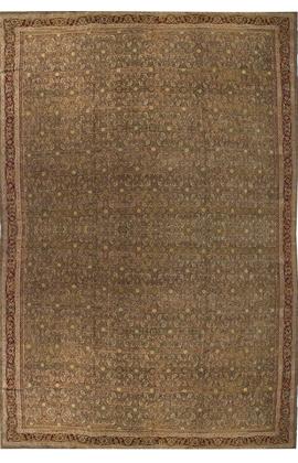 Antique Indian Agra Rug Circa 1900