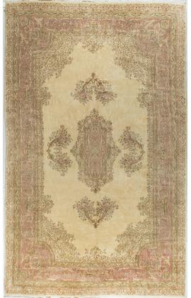 Vintage Persian Kirman Rug.Circa 1950