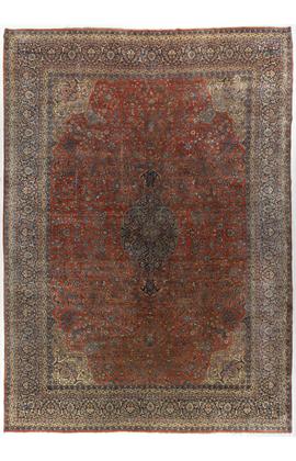 Antique Persian Kazvin Rug Circa 1900
