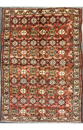 Antique Persian Shiraz Rug Circa1900