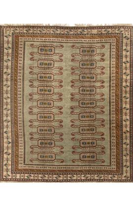 Vintage Turkish Anatolian  Rug Circa 1940