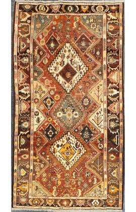 Antique Shiraz Rug Circa1900