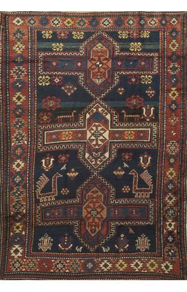 Antique Caucasian Kazak Rug Circa1900