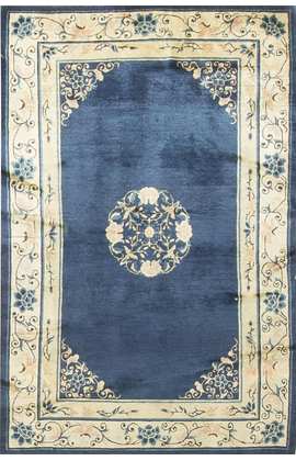 Antique Chinese Peking Rug Circa 1900