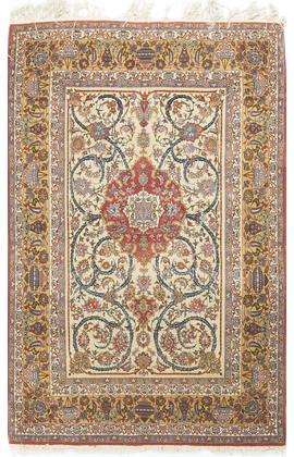 Antique Persian Isphahan Circa 1900