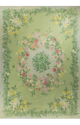 Antique French Aubusson Circa 1890