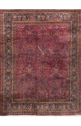 Antique Persian Kashan Circa 1900