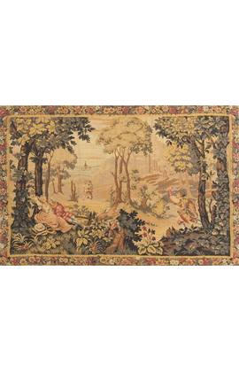 A Handloomed French Tapestry circa 1850.