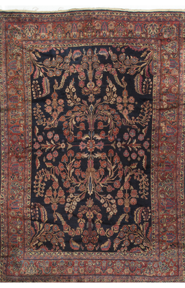 Antique Persian Sarouk Feraghan Rug Circa 1900