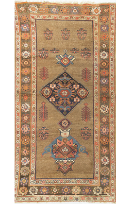 Antique Persian Bidjar Circa 1900