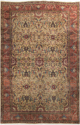 Antique Persian Sarouk Circa 1900
