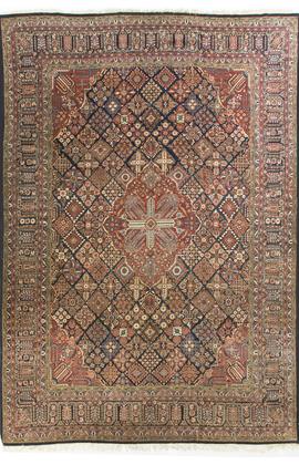 Antique Persian Kashan Circa 1890