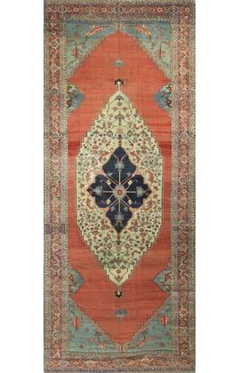 Antique Persian Serapi Circa 1890