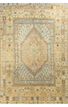 Antique Turkish Oushak Circa 1900