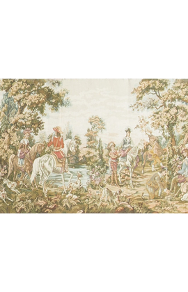 A French late 19th century Tapestry.