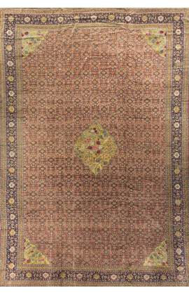 Antique Persian Senneh Rug Circa 1890