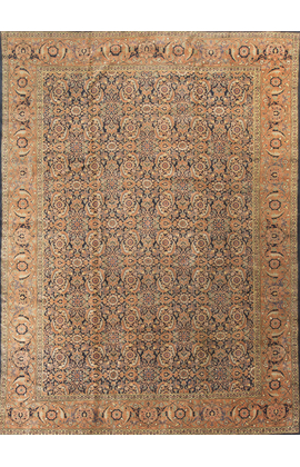 Antique Persian Tabriz Rug Circa 1890
