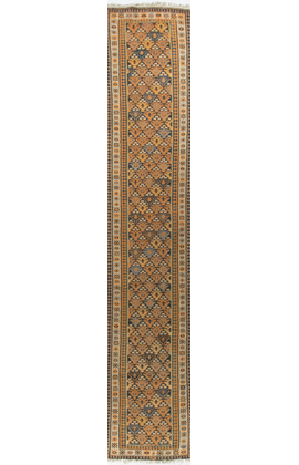 Antique Persian Veramin Kilim Circa 1900