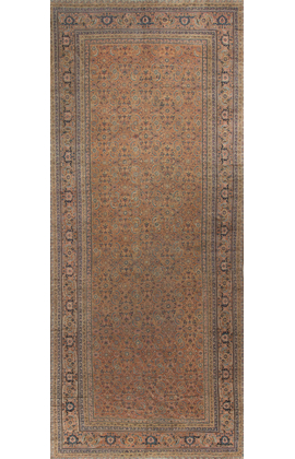 Antique Persian Herati Rug Circa 1900