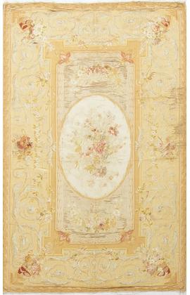 Antique French Silk Aubusson Circa 1890