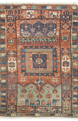 Antique Turkish Bergama Circa 1890