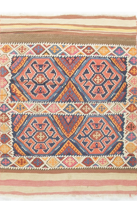 Vintage Persian Kilim Circa 1940