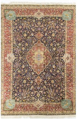 Vintage Silk Persian Tabriz Circa 1930