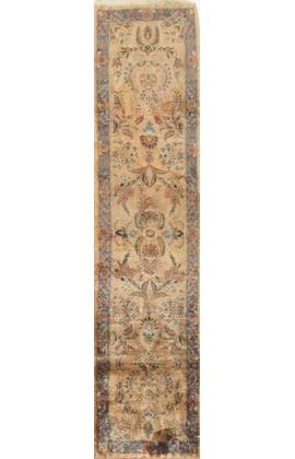 Vintage Persian Silk Kashan Circa 1930