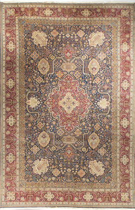 Antique Persian Tabriz Rug Circa 1900