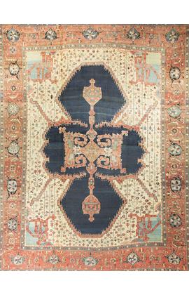 Antique Heriz Serapi Rug Circa 1890