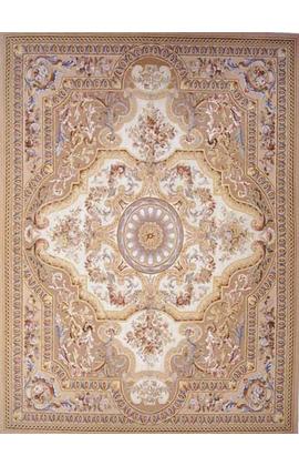 Renaissance Aubusson. Brown/Beige