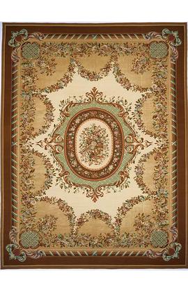 Renaissance Aubusson. Gold/Brown