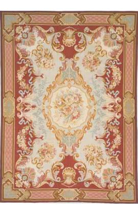 Renaissance Aubusson. Brown.