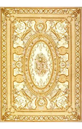 Renaissance Aubusson.Ivory/Gold
