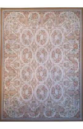 Renaissance Aubusson. Beige/Brown