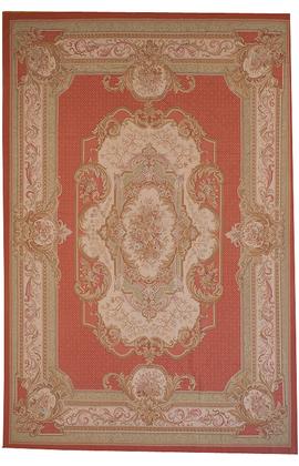 Renaissance Pile Aubusson.Peach/Ivory