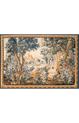 Recreation of an 18th Century Aubusson Design Tapestry